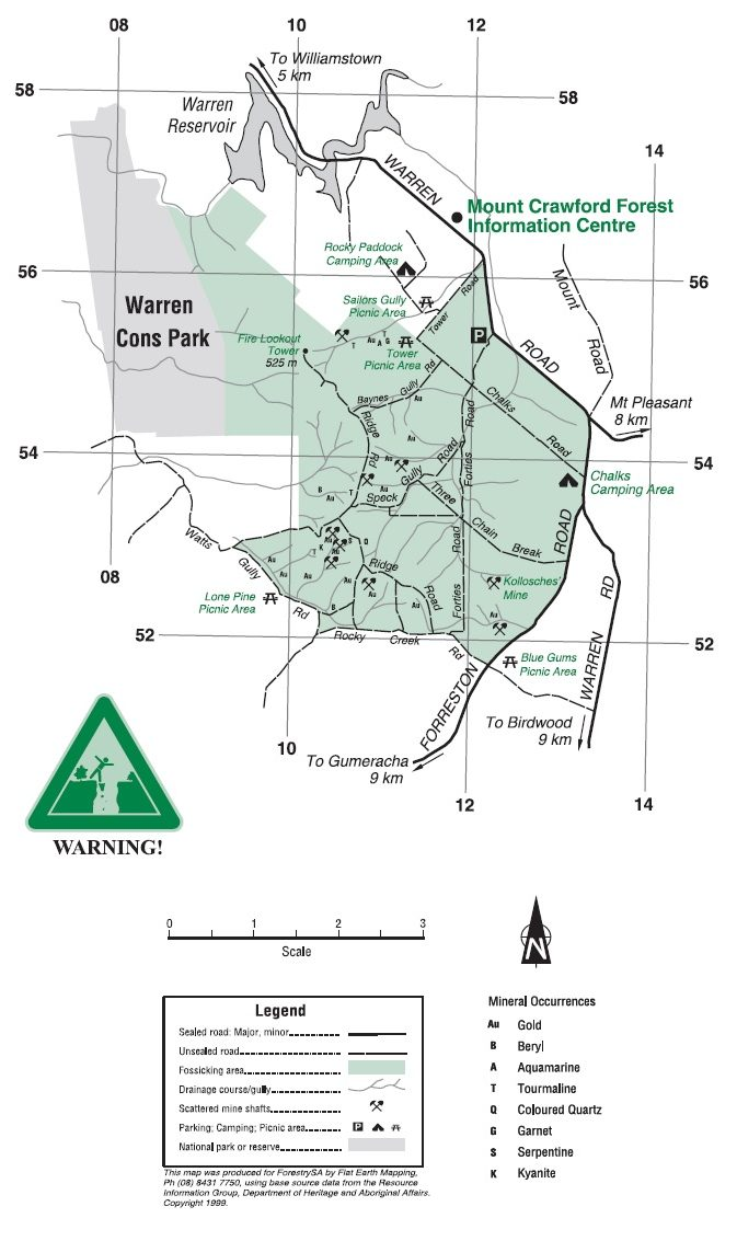 Fossicking - Mount Crawford Forest | ForestrySA